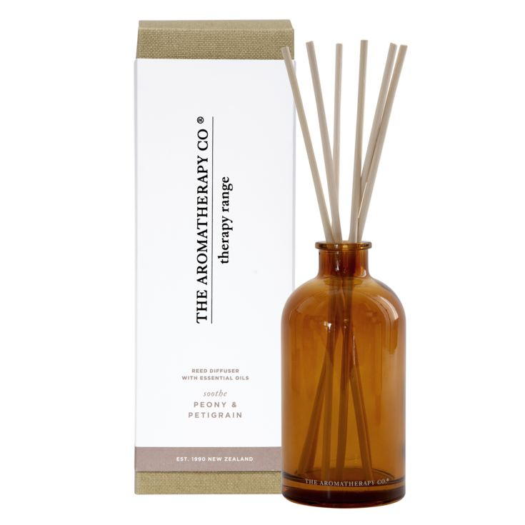 250ml Soothe Therapy Reed Diffuser Petitgrain & Peony product image