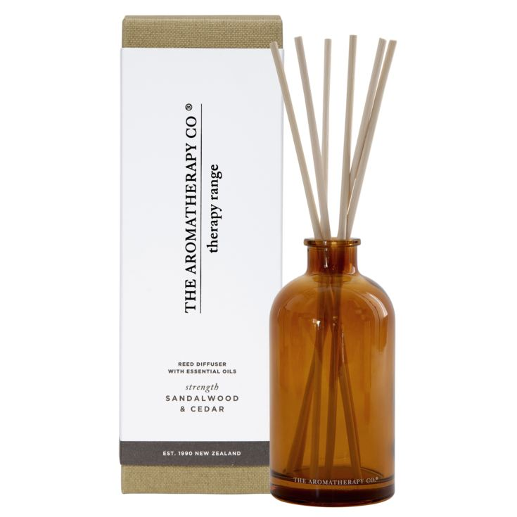 250ml Strength Therapy Reed Diffuser Sandalwood & Cedar product image