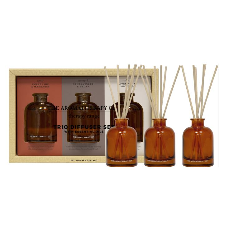 Therapy Set of Three 50ml Reed Diffusers product image