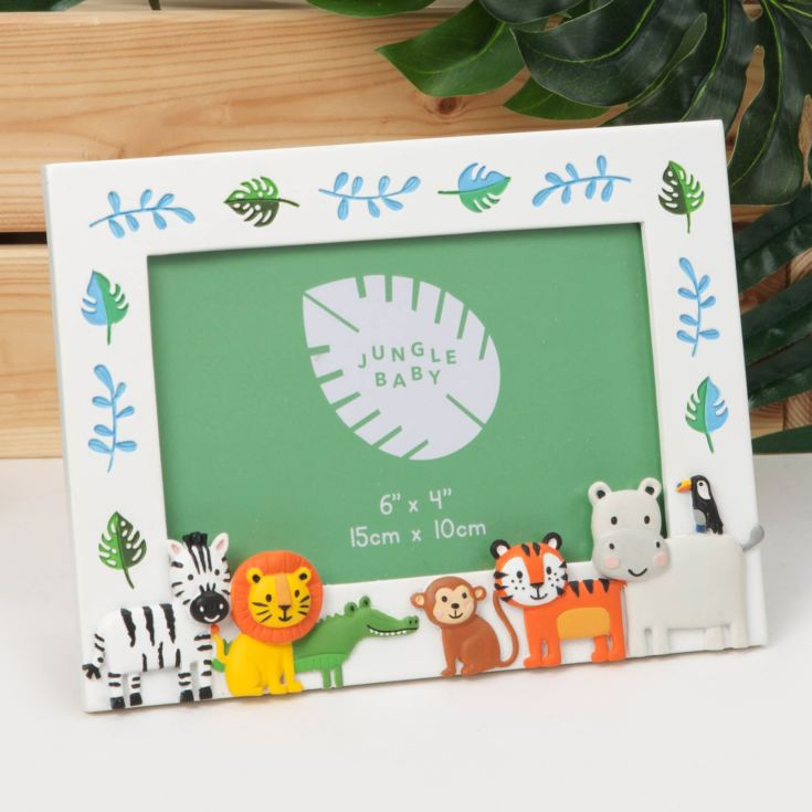 "6"" x 4"" - Jungle Baby Characters Relief Frame product image"