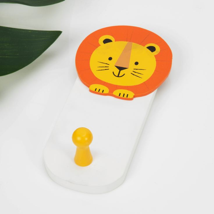 Jungle Baby London the Lion Wall Hook product image