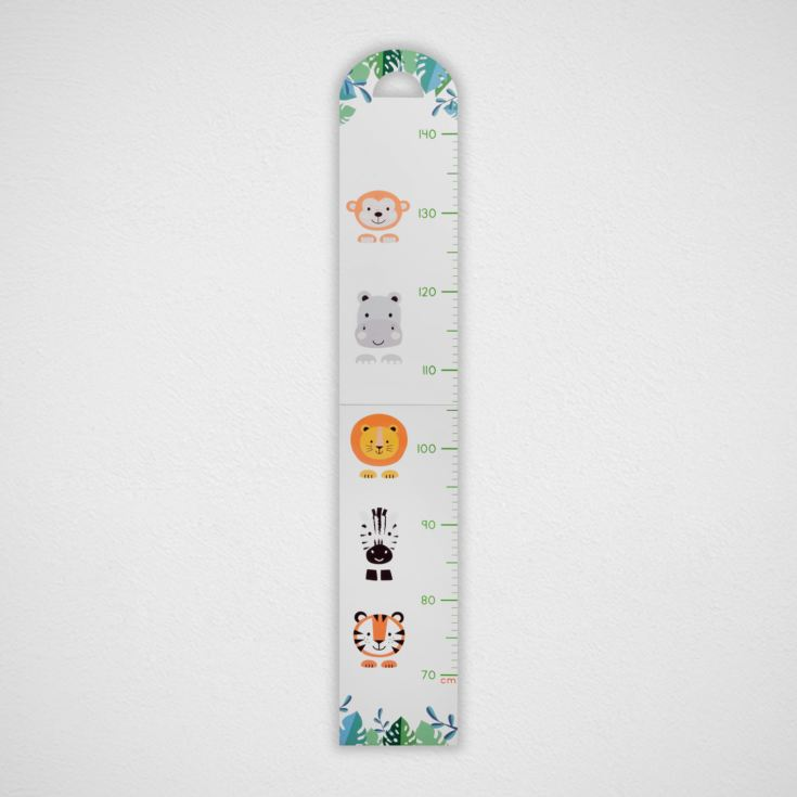 Jungle Baby Folding Wooden Height Chart product image