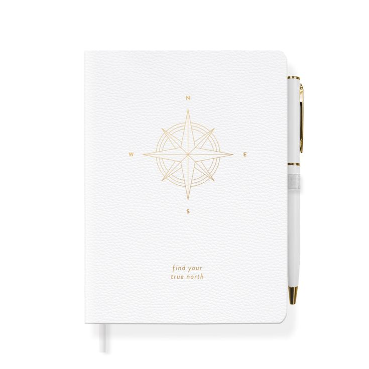 FRINGE STUDIO COMPASS JOURNAL WITH SLIM PEN product image