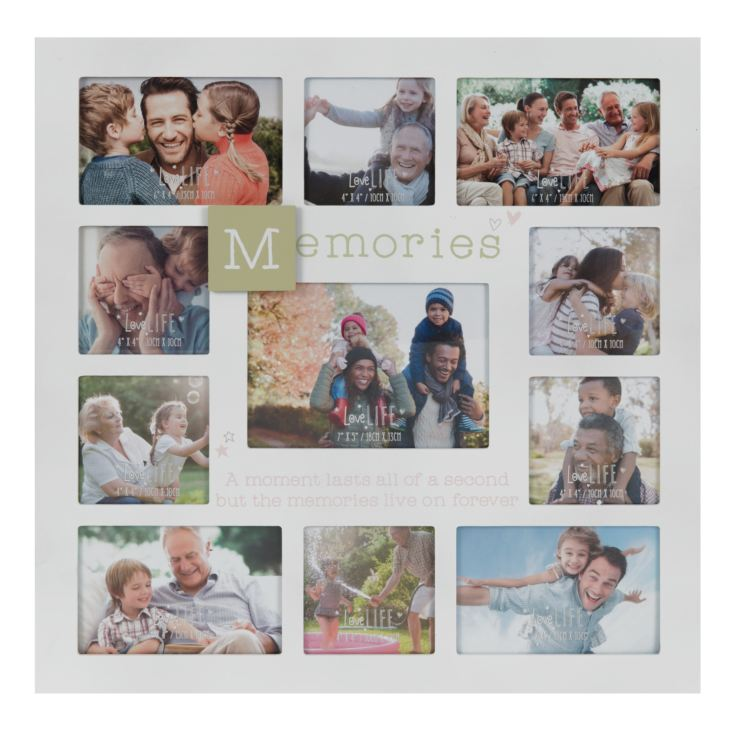 Love Life Multi Aperture Photo Frame - Memories product image