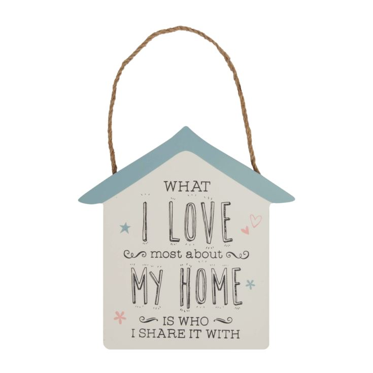 'Love Life' Hanging Plaque - Welcome to My Crazy Kitchen product image