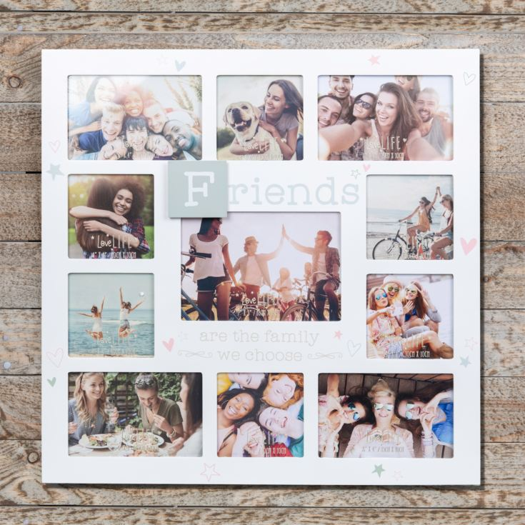 Love Life Multi Aperture Photo Frame - Friends product image