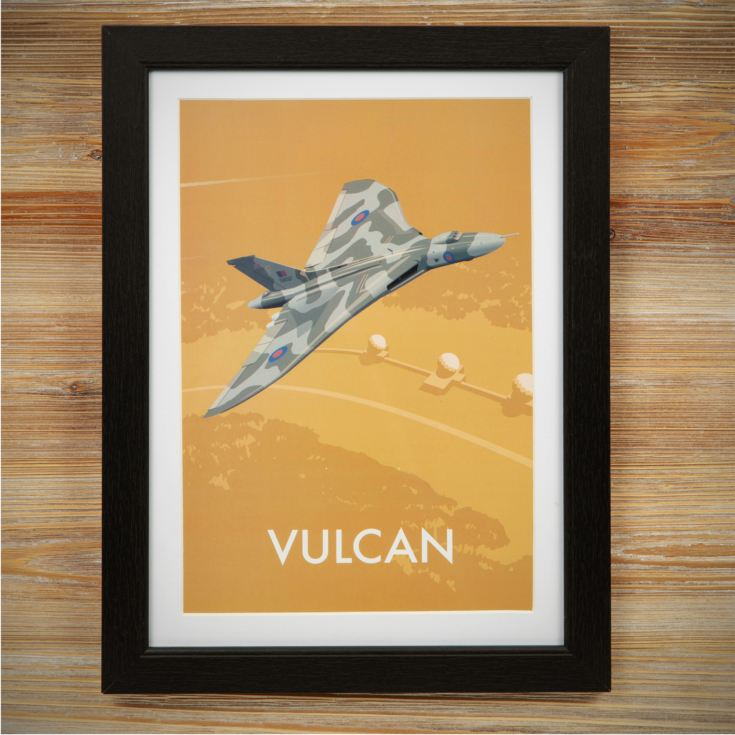 Military Heritage Frame Print - Vulcan product image