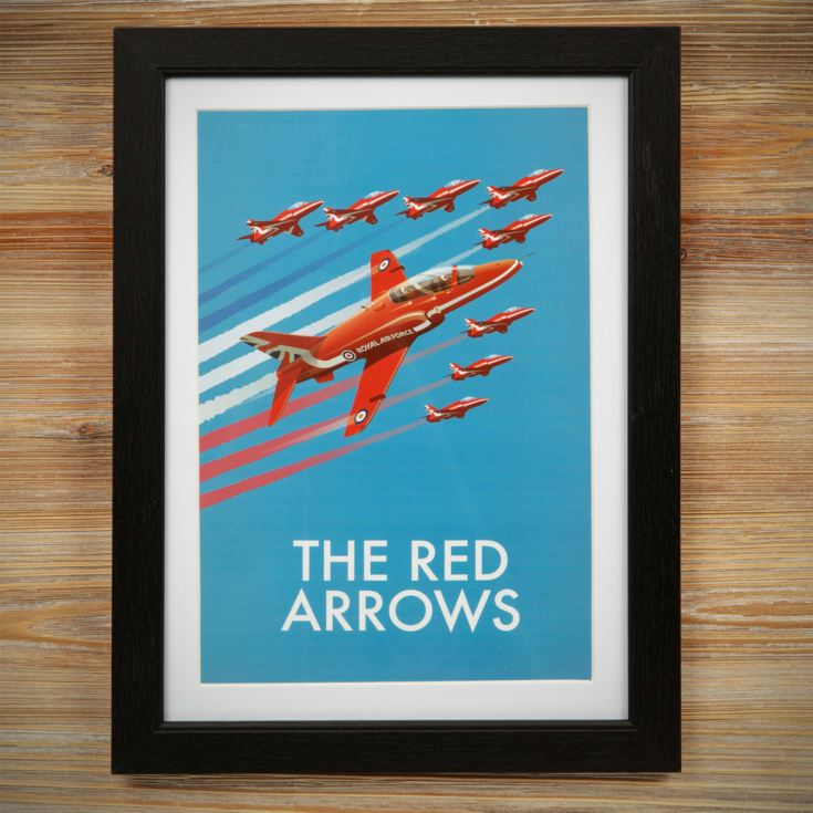 Military Heritage Frame Print - The Red Arrows product image