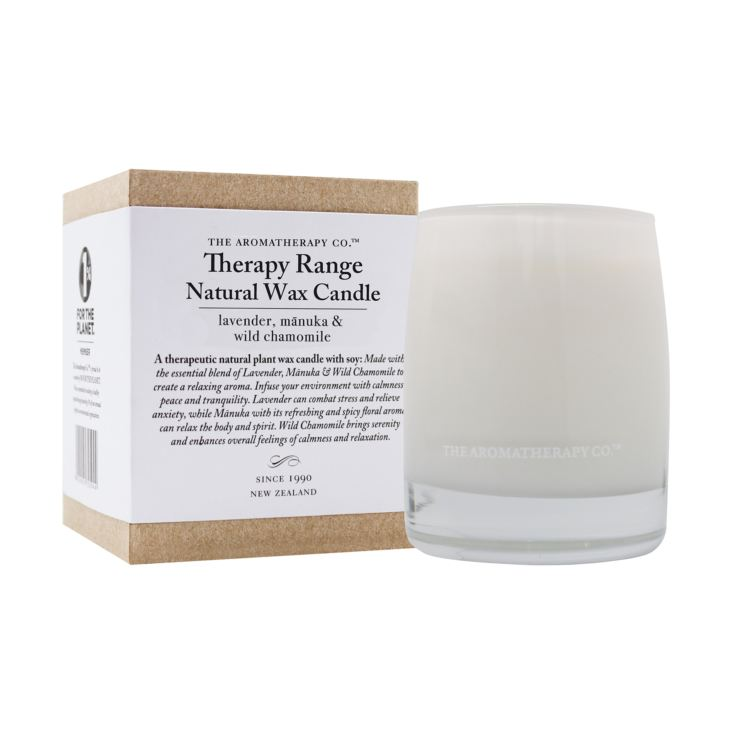 Therapy 260g Scented Candle Lavender, Manuka & Chamomile product image