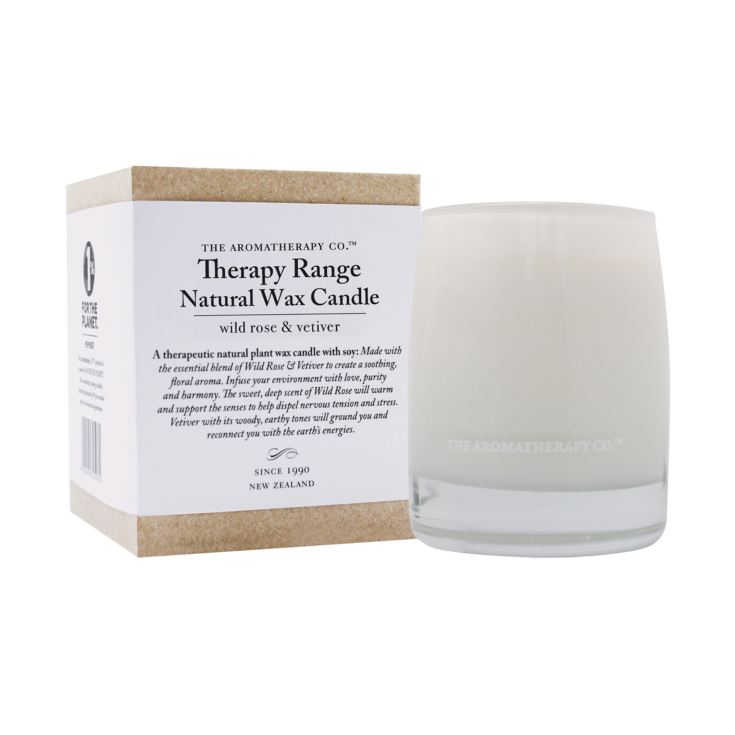 Therapy 260g Scented Candle Wild Rose & Vetiver product image