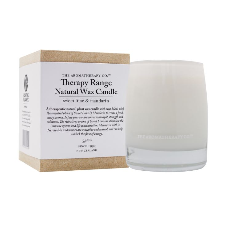 Therapy 260g Scented Candle Sweet Lime & Mandarin product image