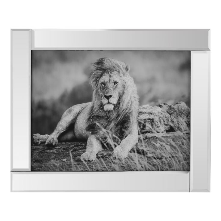 Naturecraft Mirrored Frame - Lion product image
