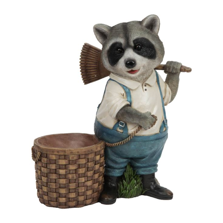 Naturecraft Collection - Raccoon with Basket product image