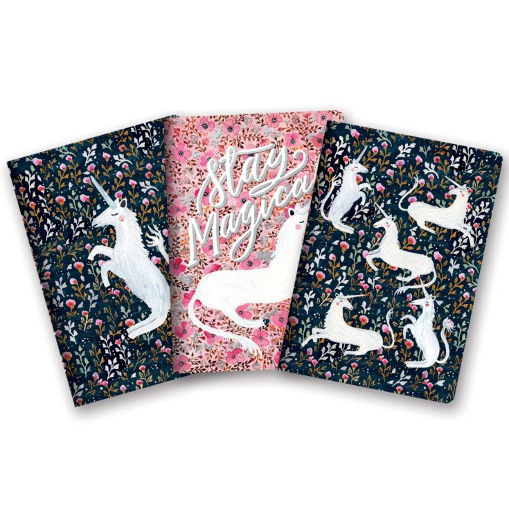 Studio Oh! Set of 3 A5 Notebooks - Stay Magical product image