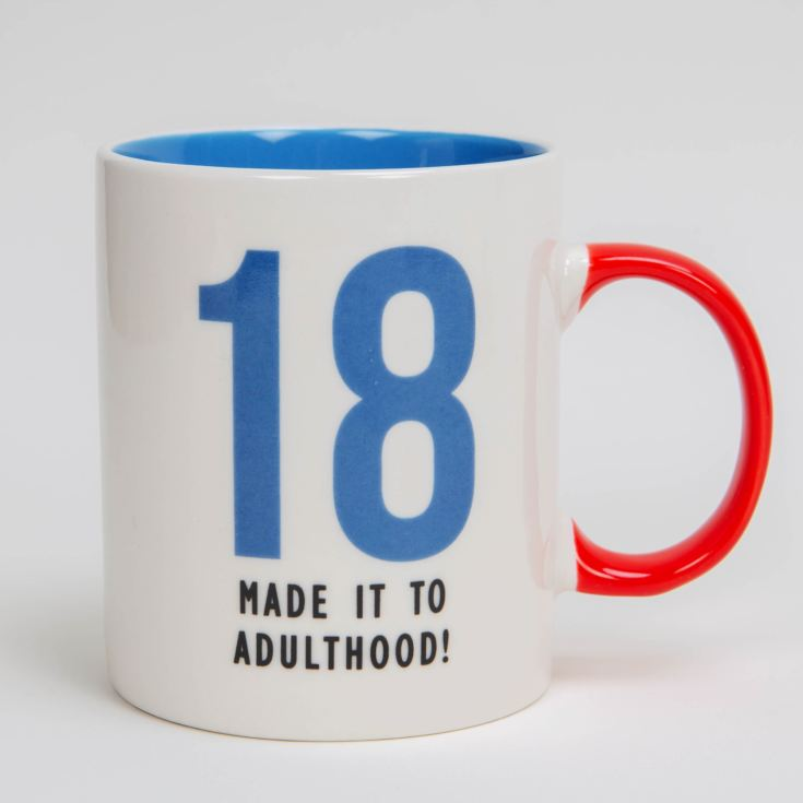 Oh Happy Day! Fine Bone China Mug - 18 Adulthood product image