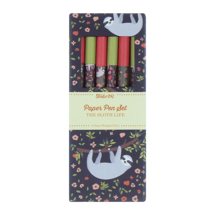 Studio Oh! Paper Pen Set - The Sloth Life product image
