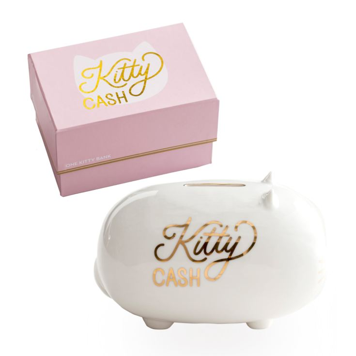 Rosanna Lucky Penny Piggy Bank - Kitty Cash product image
