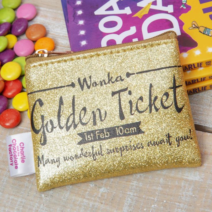 Charlie & The Chocolate Factory Golden Ticket Coin Purse product image