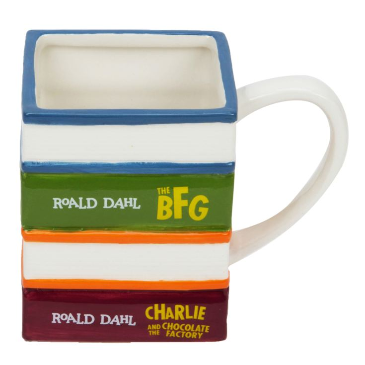 Roald Dahl Pile of Books Ceramic Mug product image