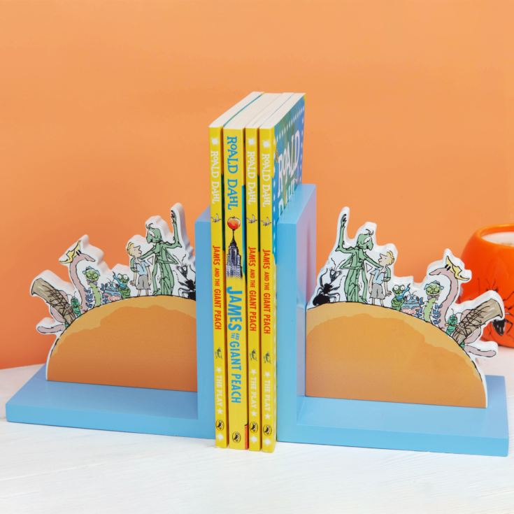 Roald Dahl James & The Giant Peach Bookends product image