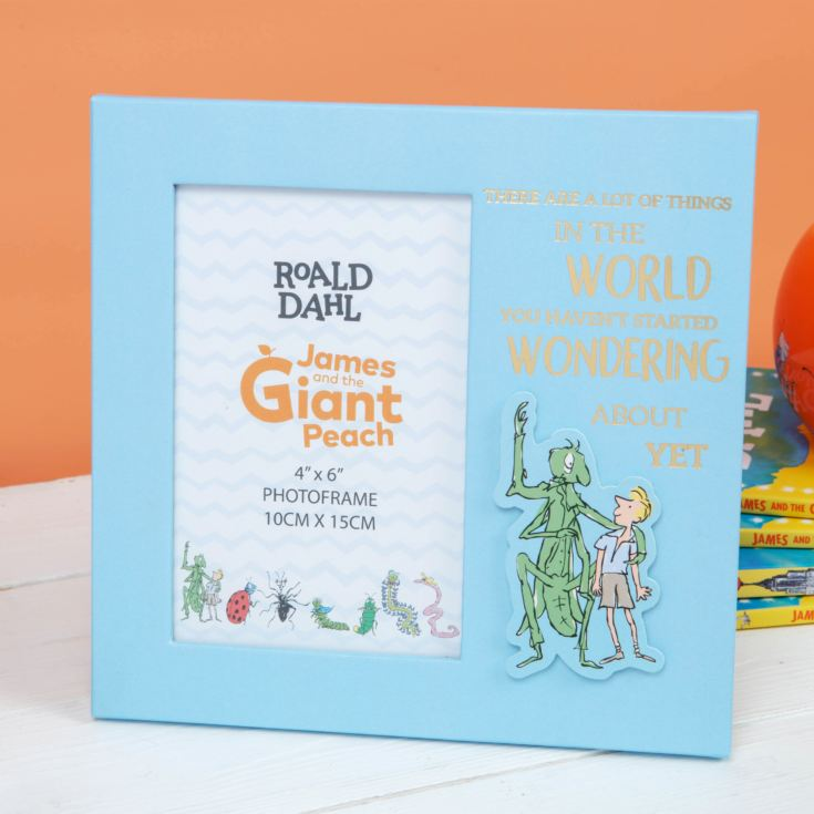 "4"" x 6"" - Roald Dahl James & The Giant Peach Photo Frame product image"