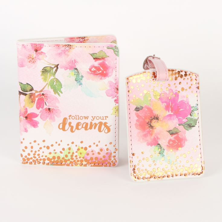 Vintage Boutique Travel Passport Holder/Luggage Set product image