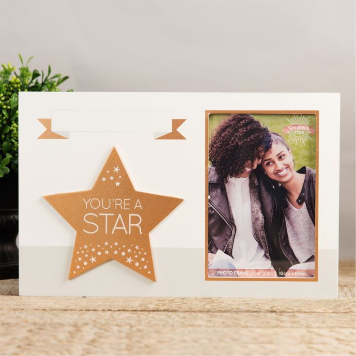 "4"" x 6"" - Shining Star Frame - You're A Star product image"