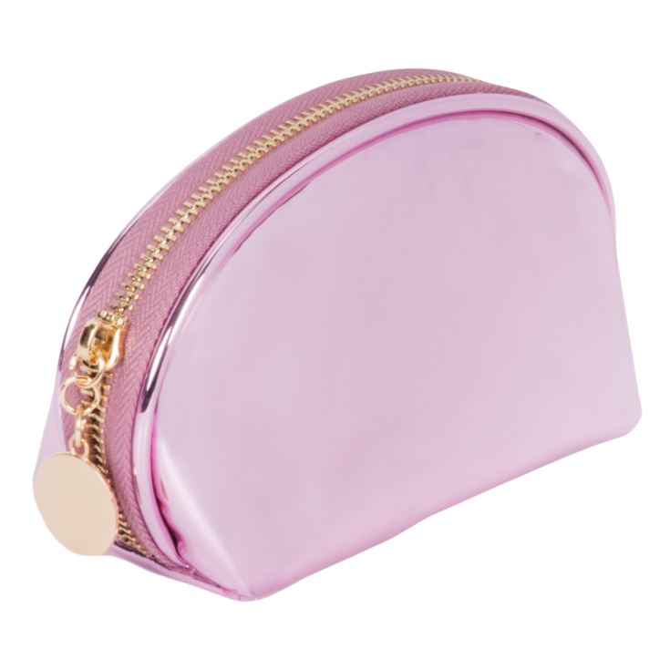 Girl Talk Metallic Pink Cosmetic Bag product image