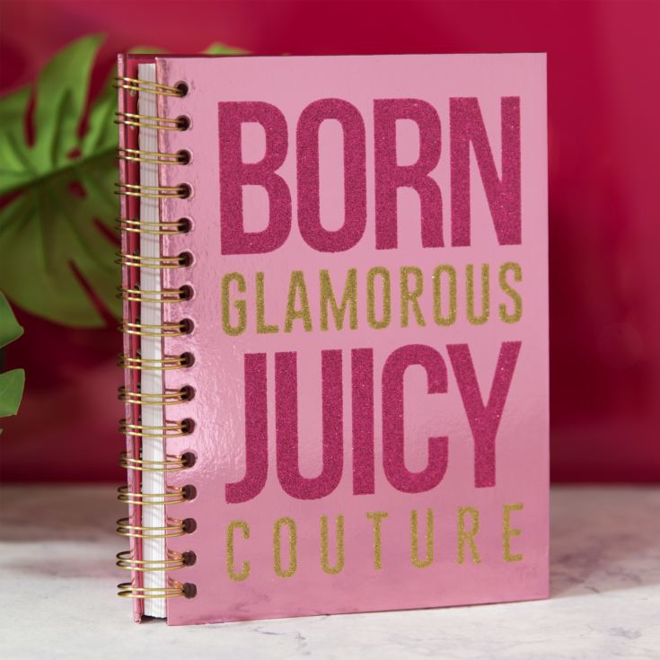 Juicy Couture Born Glam Pink A5 Notebook product image