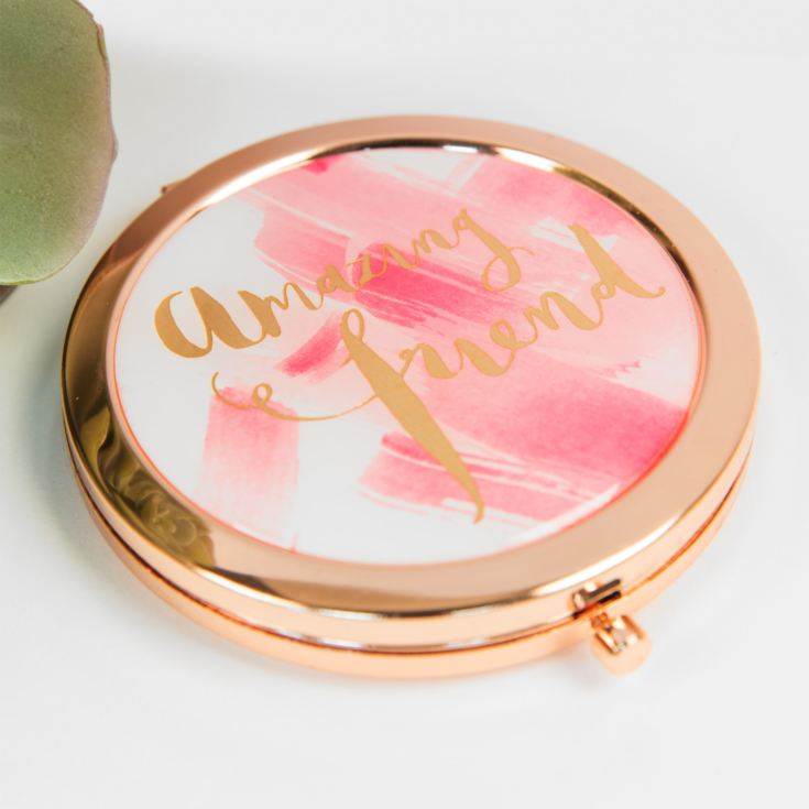 Hello Neon 'Amazing Friend' Compact Mirror product image