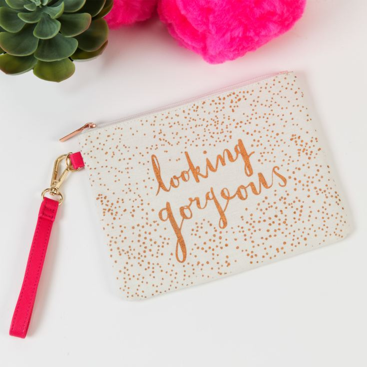 Hello Neon 'Looking Gorgeous' Cosmetic Bag product image