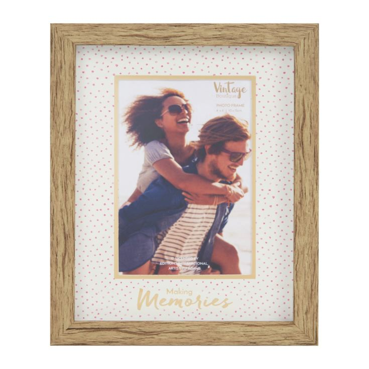 "4"" x 6"" - Vintage Boutique Frame - Making Memories product image"