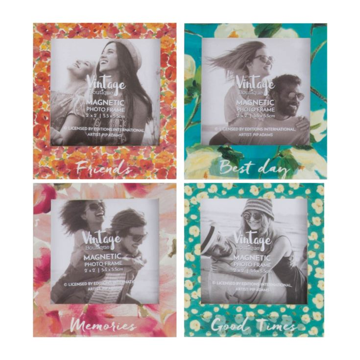 "2"" x 2"" - Set of 4 Magnet Photo Frames product image"