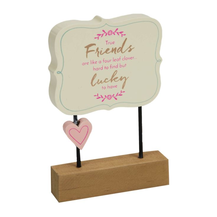 True Friends Wooden Desk Plaque product image