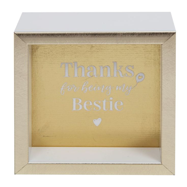 Thanks For Being My Bestie Desk Plaque product image