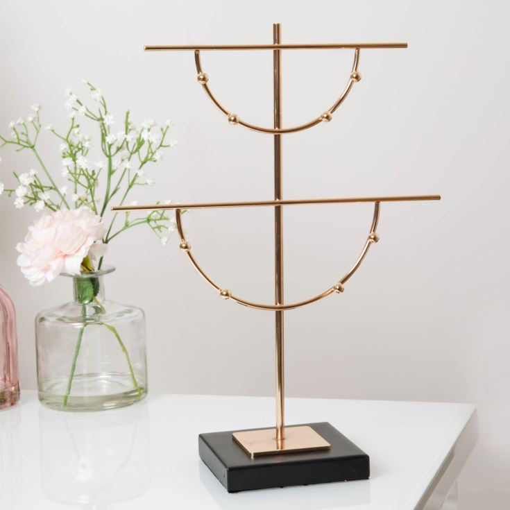Estella Gold Finish Metal Jewellery Hanger product image