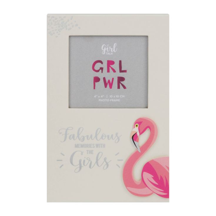 "4"" x 4"" - Girl Talk Photo Frame - Memories With The Girls product image"