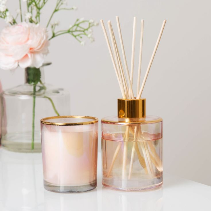 Estella 92g Candle & 100ml Reed Diffuser - Lily Blossom product image