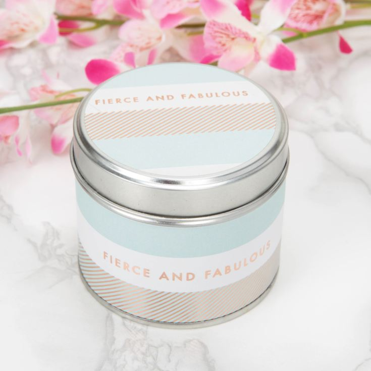 By Appointment Deluxe Tin Candle - Fierce & Fabulous product image