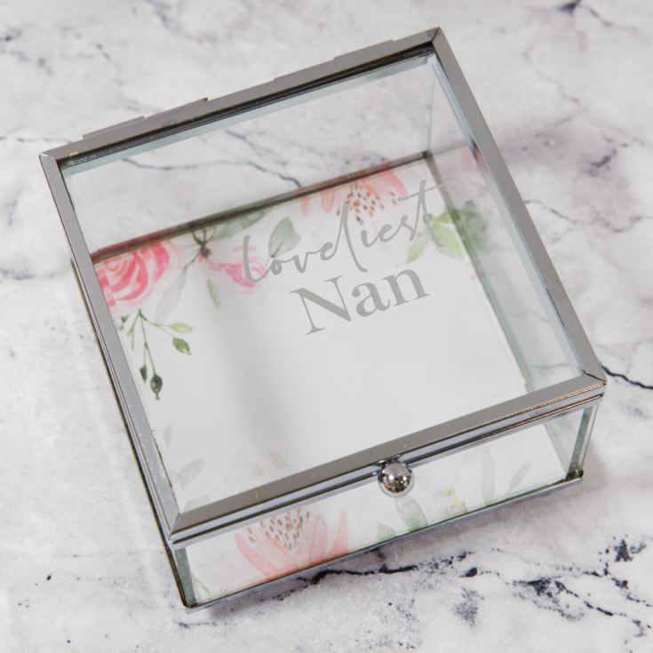 Sophia Glass Trinket Box - Loveliest Nan product image