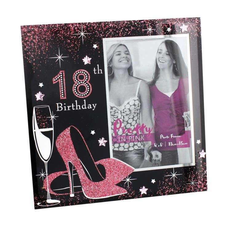 "4"" x 6"" - Sophia Pretty in Pink Photo Frame - 18th Birthday product image"