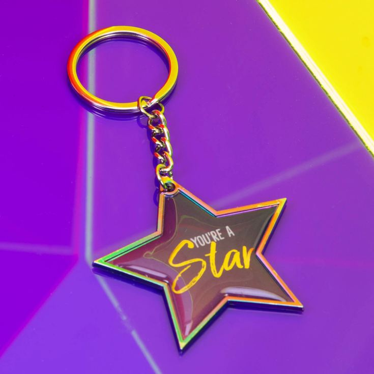 Tutti Frutti You're A Star Keyring product image
