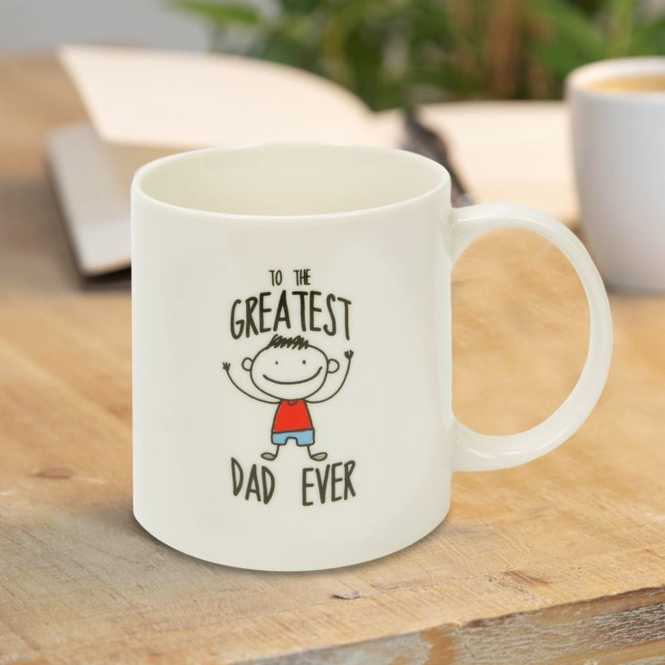 To The Greatest Dad Ever Stoneware Mug product image