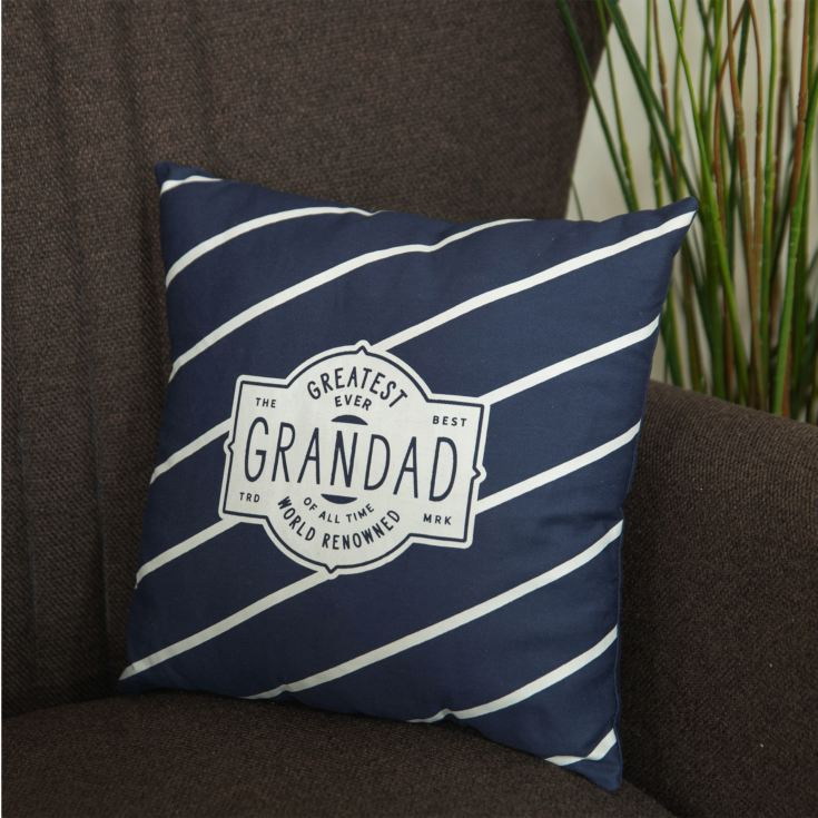 Greatest Ever Grandad Square Scatter Cushion - 30cm product image