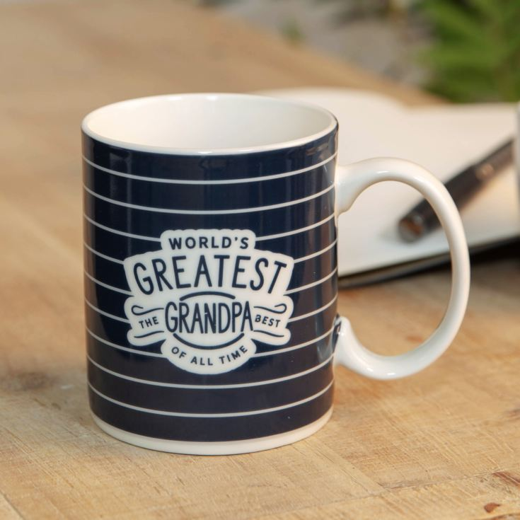 World's Greatest Grandpa Stoneware Mug product image