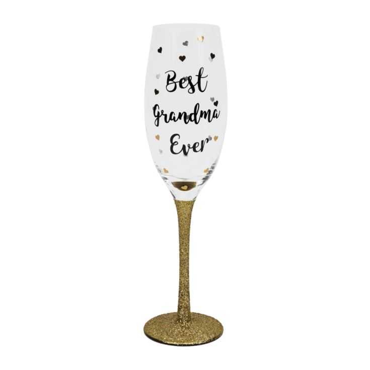 Best Grandma Ever Prosecco Glass product image