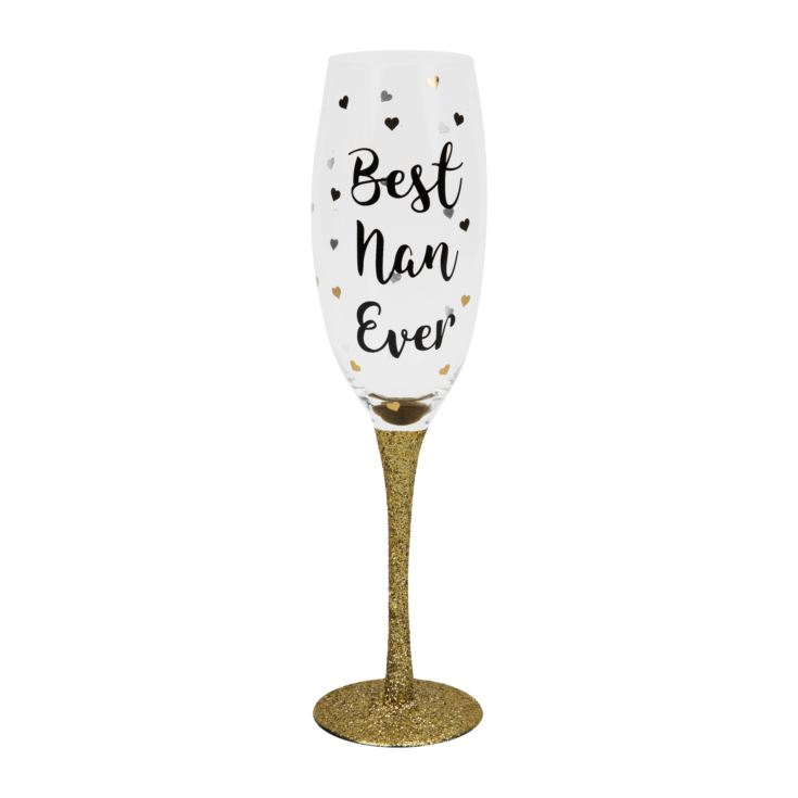 Best Nan Ever Prosecco Glass product image