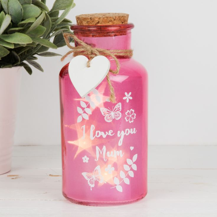 Rose Gold Option LED Light Up Bottle Mother and Daughter Birthday Mothers Day