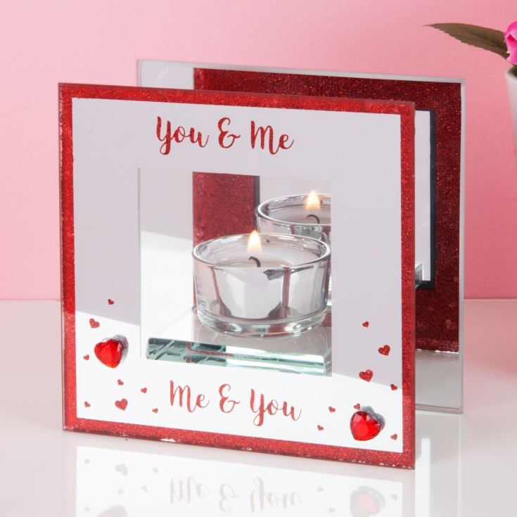 True Valentine Glass Single Tealight Holder product image