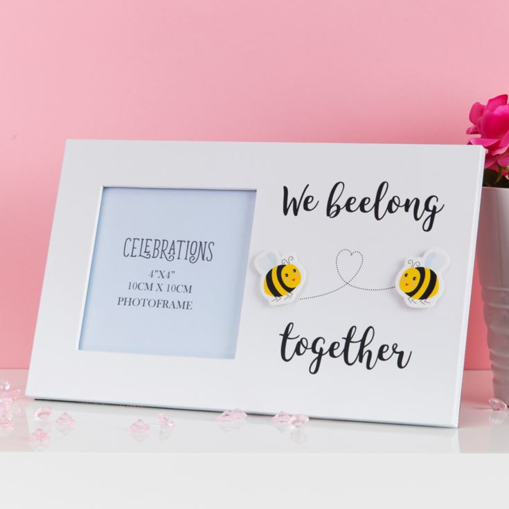 "4"" x 4"" - True Valentine Photo Frame - We Beelong Together product image"